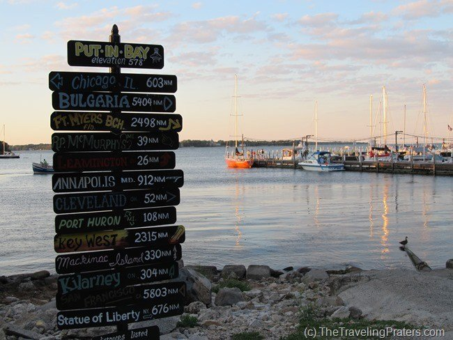 The Put-in-Bay sign