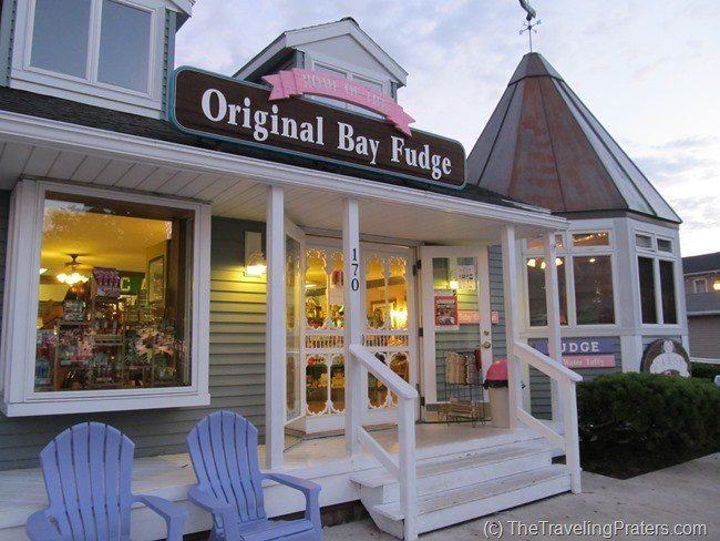 One of the shops in downtown Put-in-Bay