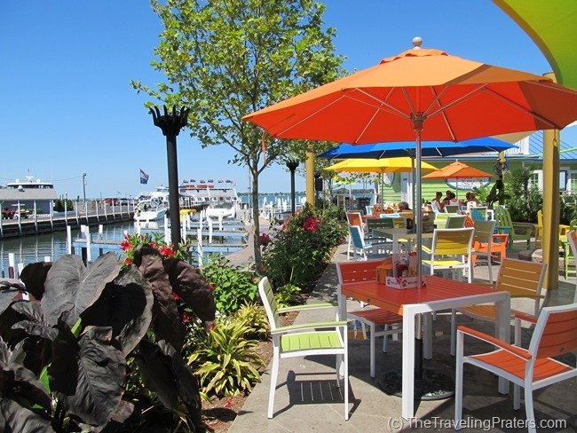 The Keys restaurant in Put-in-Bay