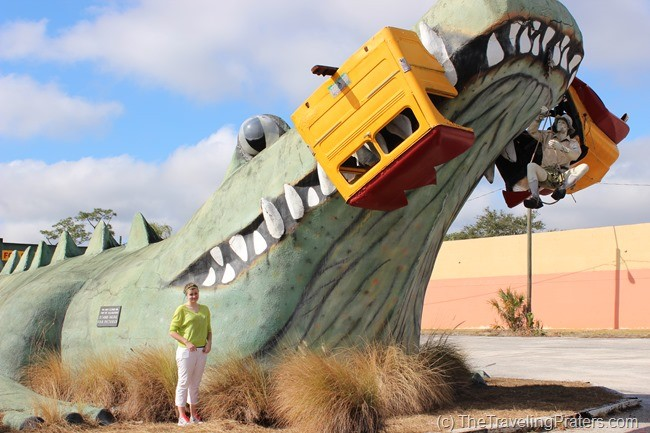 The World's Second Largest Gator in Kissimmee Florida