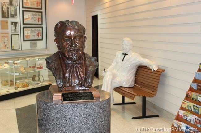 Inside Harland Sanders Cafe and Museum in Corbin Kentucky
