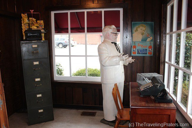 Colonel Sanders Office Inside the Harland Sanders Cafe and Museum in Corbin Kentucky