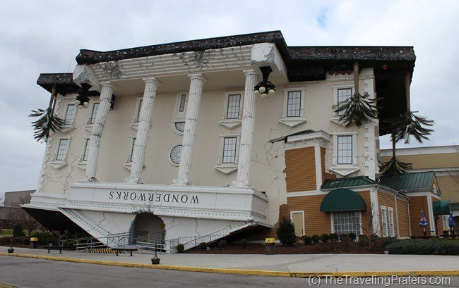 WonderWorks in Pigeon Forge- Your Guide to Homeschool Friendly Spring Break Ideas in the Smokies via www.thetravelingpraters.com