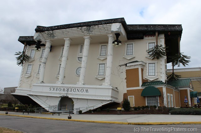 Family Fun at Wonderworks in Pigeon Forge Tennessee