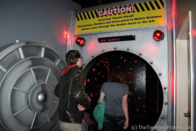 The Inversion Tunnel at WonderWorks