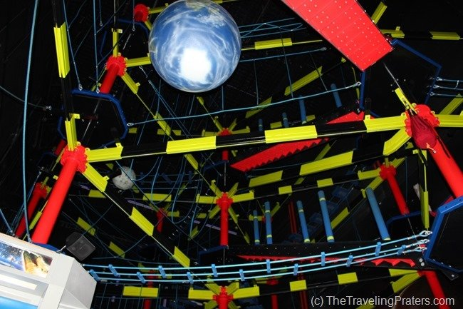 The World's Largest Rope Course at WonderWorks in Pigeon Forge