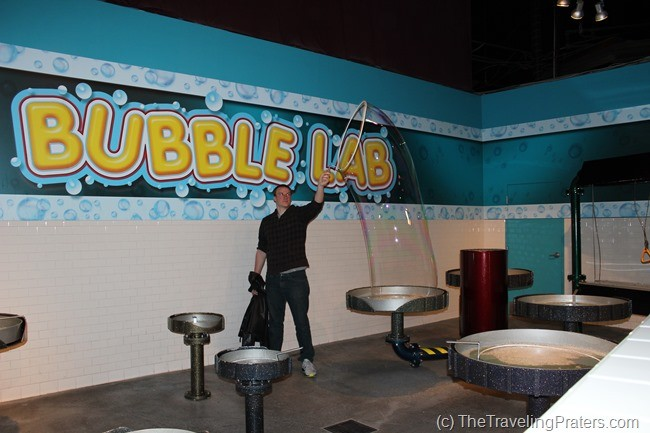 Bubble Lab in WonderWorks
