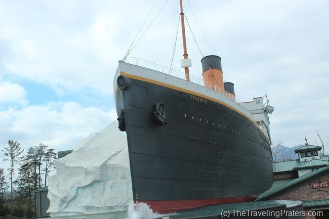 The Titanic in Pigeon Forge- Your Guide to Homeschool Friendly Spring Break Ideas in the Smokies via www.thetravelingpraters.com
