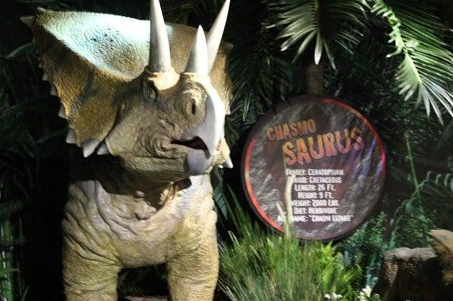 Dinosaurs at Ripley's Aquarium of the Smokies