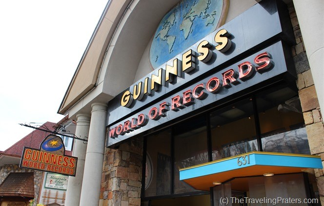 Guiness World Records Museum- Your Guide to Homeschool Friendly Spring Break Ideas in the Smokies via www.thetravelingpraters.com