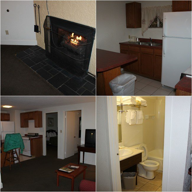 Inside the rooms at Quality Inn Creekside