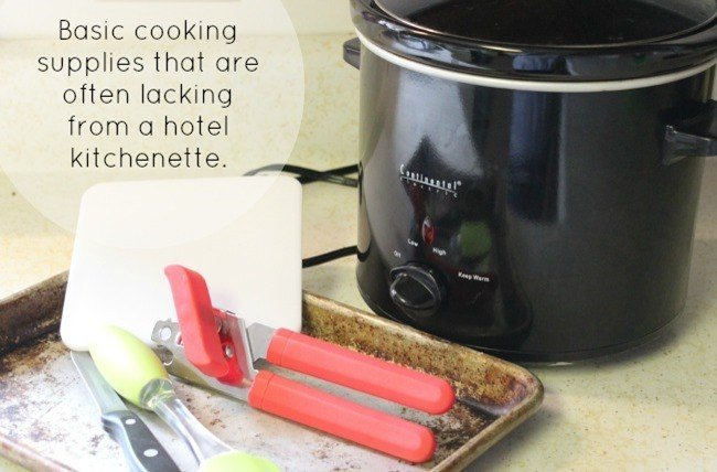 Items for a portable kitchen