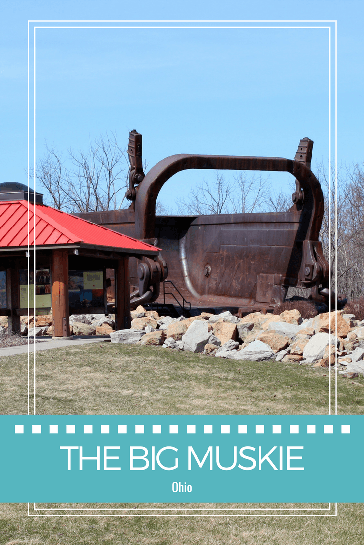 The Big Muskie near Cambridge pays homage to Ohio's mining community.