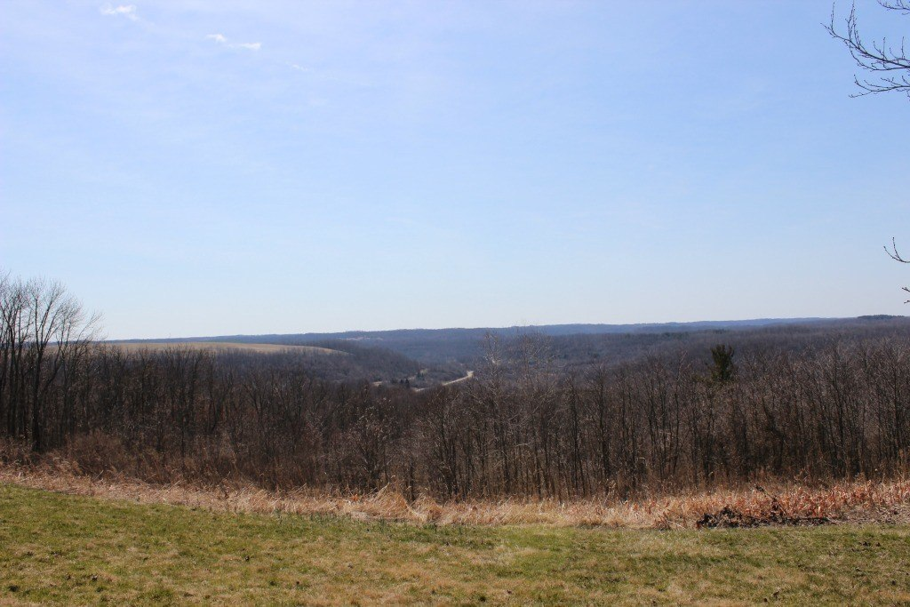 The view of the land from the Big Muskie Miner's Memorial Park