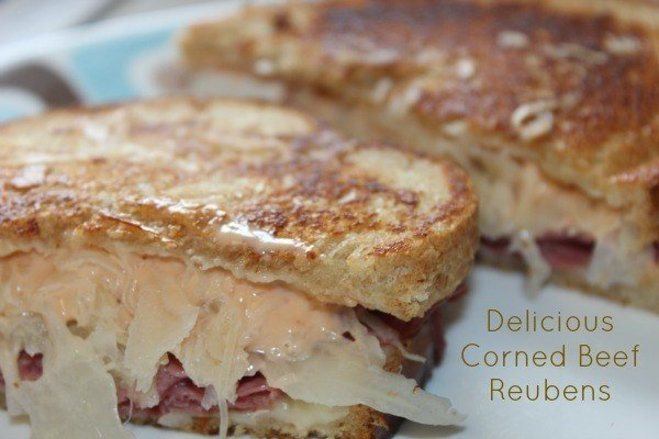 Cooking in a Hotel Room Corned Beef Reubens