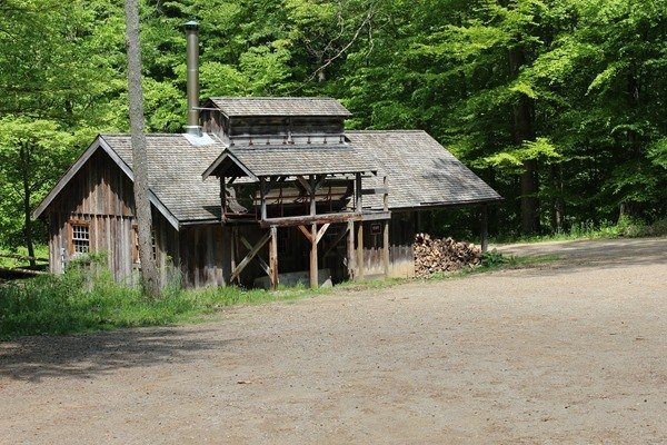 The Sugar Shack at Malabar Farm State Park