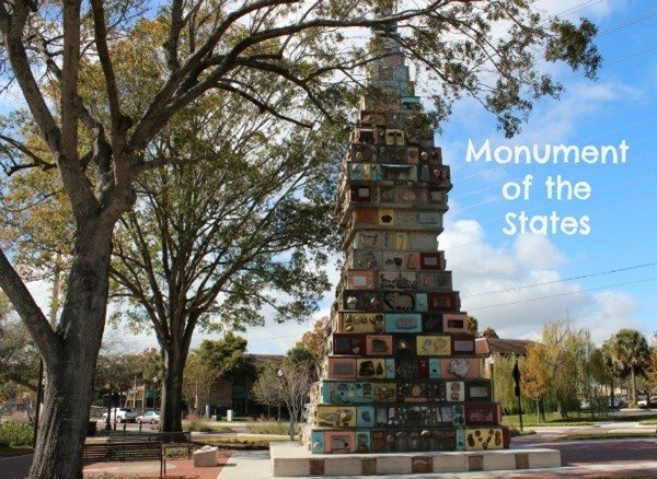 Kissimmee, Florida Monument Of The States Roadside Attraction is one of the best options for a fun way to spend a few minutes at a stop on your next trip!