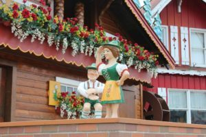 The World's Largest Cuckoo Clock in Sugarcreek, Ohio is a road trip stop when driving through Amish Country.