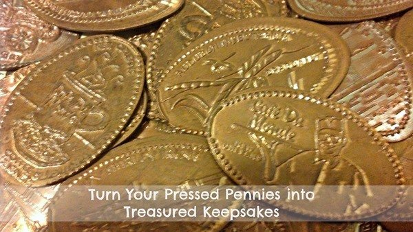 Turn your Pressed Pennies into Treasured Keepsakes