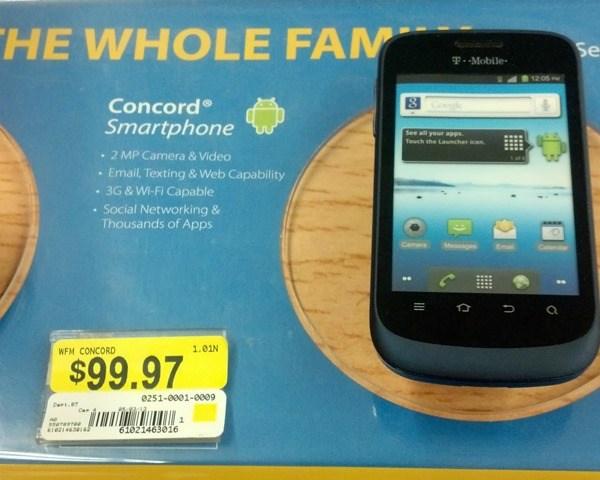 concord smartphone