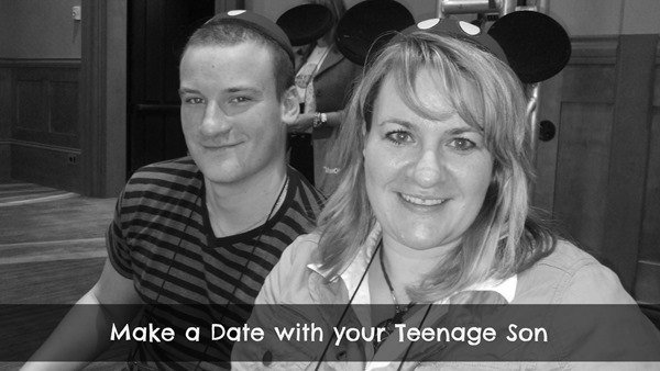 make a date with your teenage son