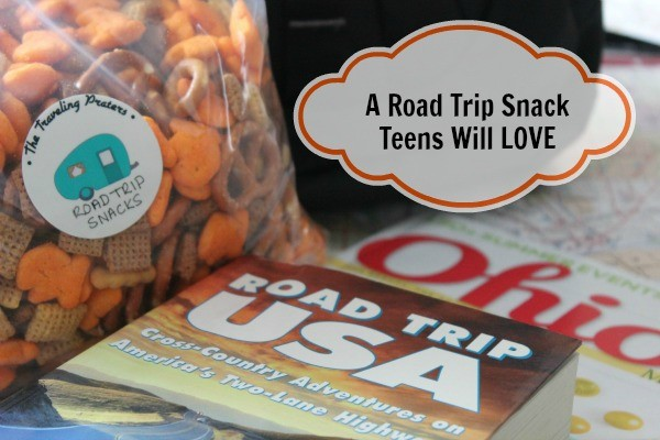 A Road Trip Snack Teens will LOVE