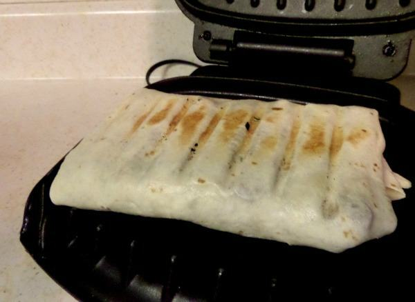 Grilling the Chicken Wrap
