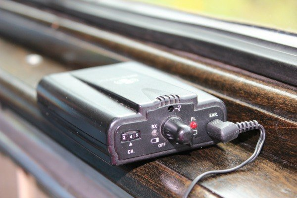 audio tour on board CVSR