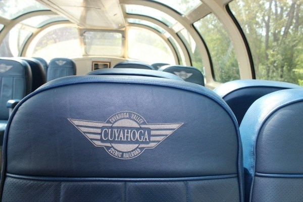 Dome Seats on the Cuyahoga Valley Scenic Railroad