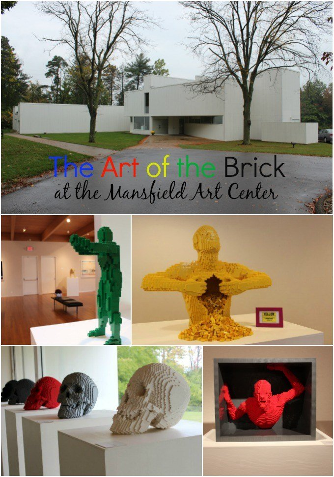 The Art of the Brick at the Mansfield Art Center opens May 7th and runs until August 27th.