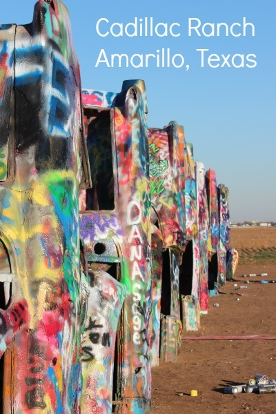 Cadillac Ranch Roadside Attraction in Amarillo, Texas