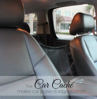 The Car Cache Makes Purse Storage Easy