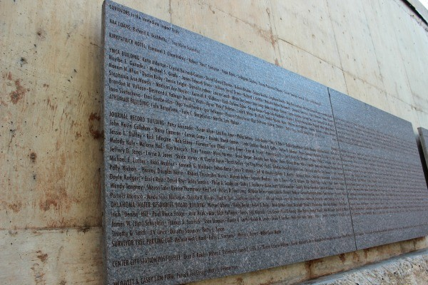 Visiting the Oklahoma City National Memorial in Pictures