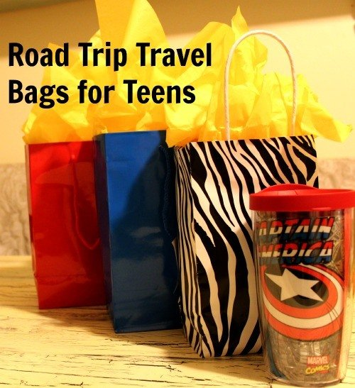 Road Trip Travel Bags for Teens
