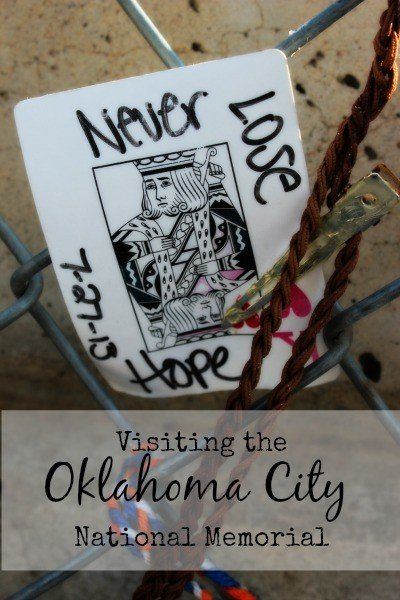 Visiting the Oklahoma City National Memorial