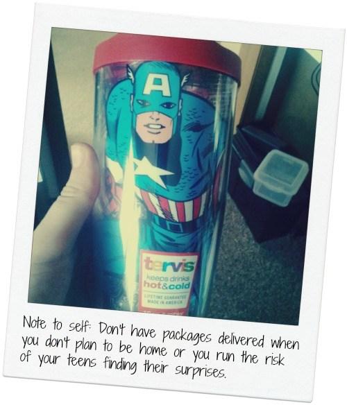 Captain America Tervis Tumbler