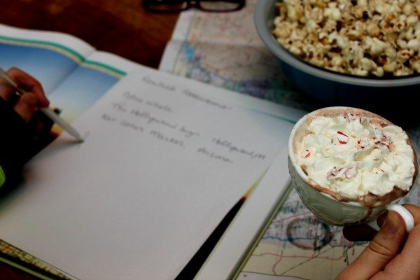 Trip Planning with Perfect Peppermint Coffee #loveyourcoffee