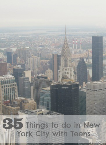 35 things to do in new york city with teens for Things to do in newyork city