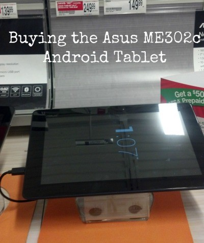 #shop Asus ME302c Android Tablet