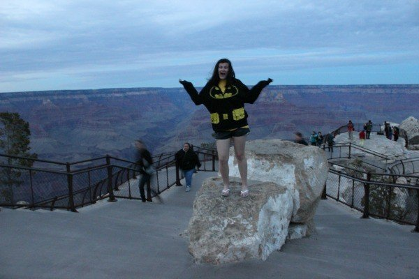 Chelsea at the Grand Canyon