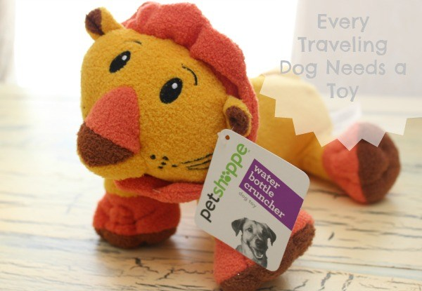Every Traveling Dog Needs a Toy #shop