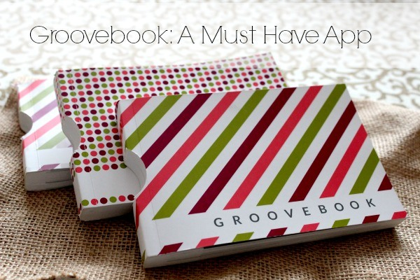 Upload your photos from your smartphone each month and receive a book of 100 photos using the Groovebook app. The book is mailed to you for only $2.99!  The app is free and now you can get your first book free using the code THETRAVELINGGROOVE at www.grovebook.com.