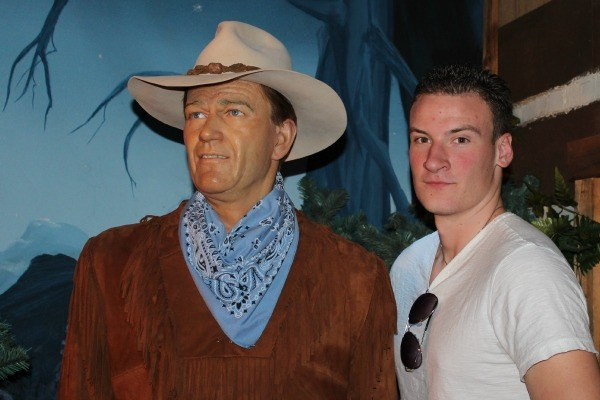 John Wayne at the Hollywood Wax Museum