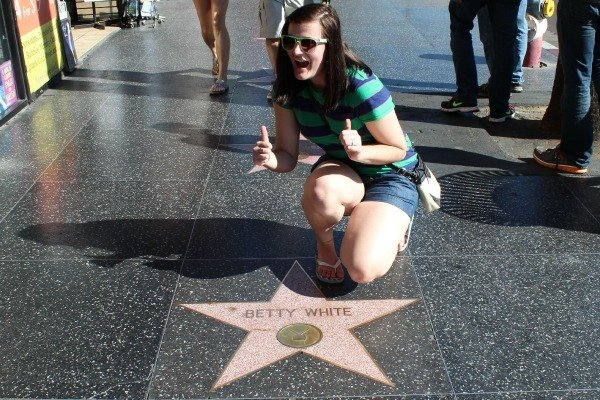 Mingling with the Stars on Hollywood Blvd.