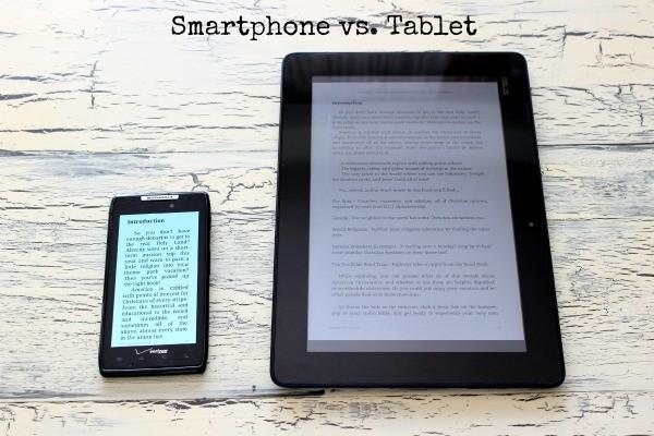 Smartphone vs Asus ME302c Intel Tablet #shop