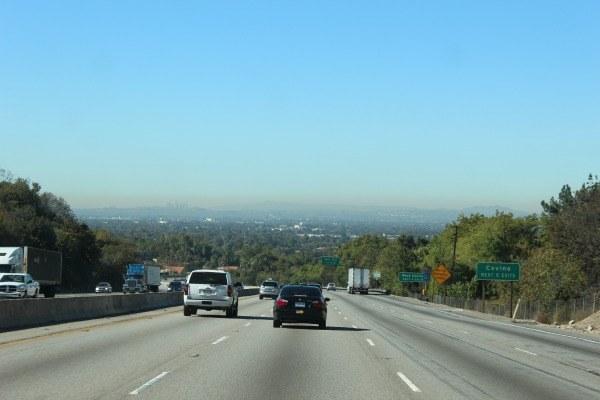 Smog in LA