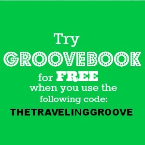 Try Groovebook for free with the code THETRAVELINGGROOVE