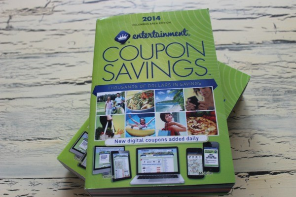 the Entertainment Book Coupon Savings