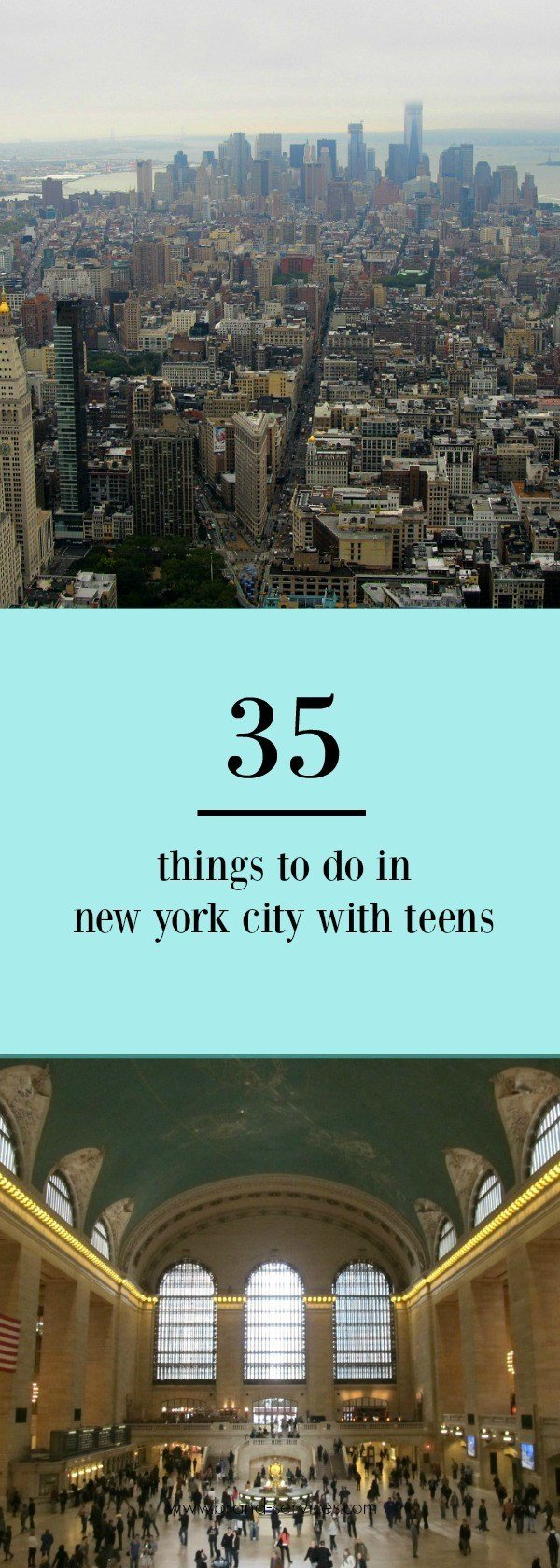 Planning a trip to NYC but don't know where to start? Check out our list of 35 Things to do in New York City with teens to help you get started.