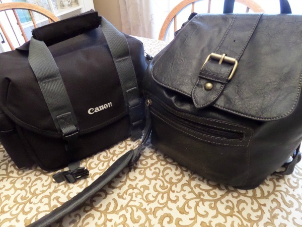 Make your own camera bag, the finished product